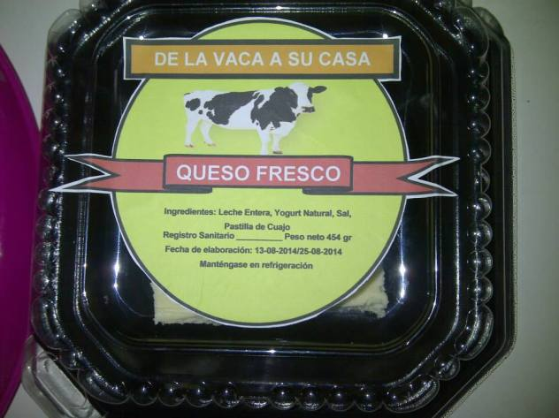 Queso fresco con yogurt